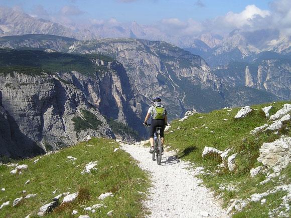 Mountainbike Alpen