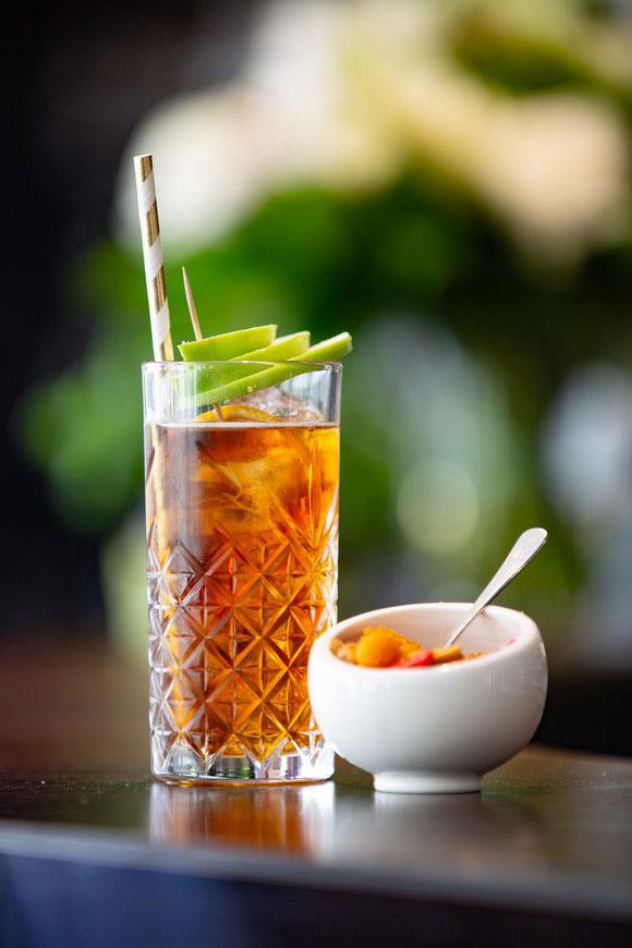 Grüner Tee Eistee abnehmen